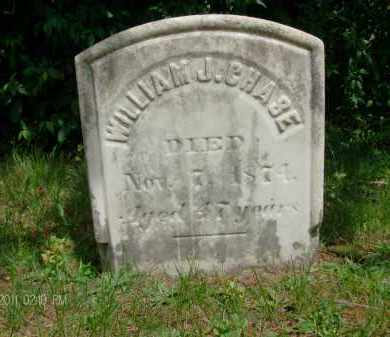 CHASE, WILLIAM J - Rensselaer County, New York | WILLIAM J CHASE - New York Gravestone Photos