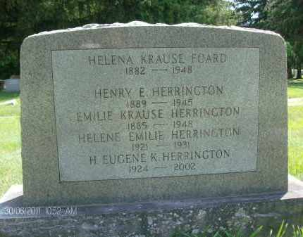 HERRINGTON, H. EUGENE K - Rensselaer County, New York | H. EUGENE K HERRINGTON - New York Gravestone Photos