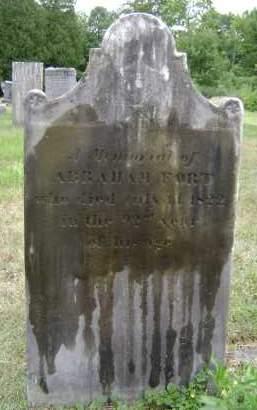 FORT, ABRAHAM - Rensselaer County, New York | ABRAHAM FORT - New York Gravestone Photos