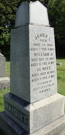 HAIGHT, DE WITT - Rensselaer County, New York | DE WITT HAIGHT - New York Gravestone Photos