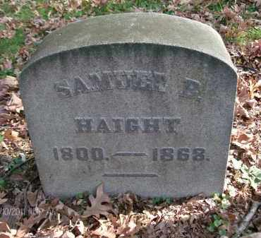 HAIGHT, SAMUEL B - Rensselaer County, New York | SAMUEL B HAIGHT - New York Gravestone Photos