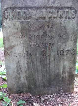 HALEY, RHODA M - Rensselaer County, New York | RHODA M HALEY - New York Gravestone Photos