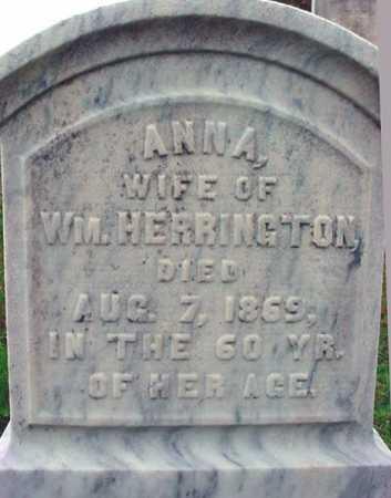 HERRINGTON, ANNA - Rensselaer County, New York   ANNA HERRINGTON - New York Gravestone Photos