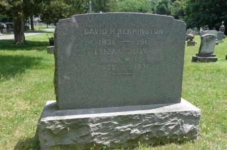 HERRINGTON, DAVID H - Rensselaer County, New York   DAVID H HERRINGTON - New York Gravestone Photos