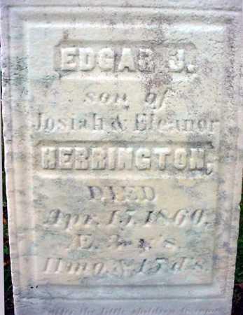 HERRINGTON, EDGAR J - Rensselaer County, New York | EDGAR J HERRINGTON - New York Gravestone Photos