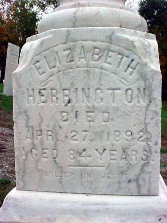 HERRINGTON, ELIZABETH - Rensselaer County, New York   ELIZABETH HERRINGTON - New York Gravestone Photos