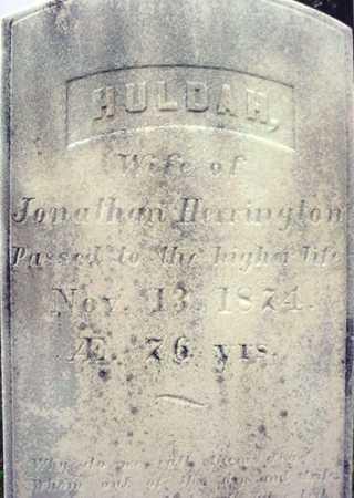 HERRINGTON, HULDAH - Rensselaer County, New York | HULDAH HERRINGTON - New York Gravestone Photos