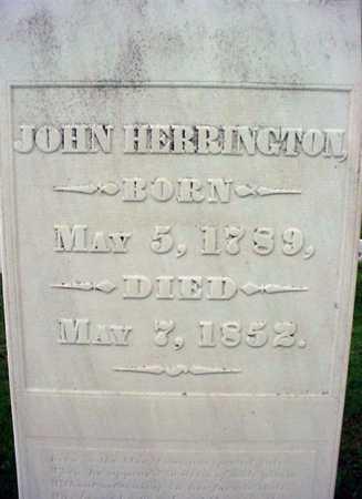 HERRINGTON, JOHN - Rensselaer County, New York   JOHN HERRINGTON - New York Gravestone Photos