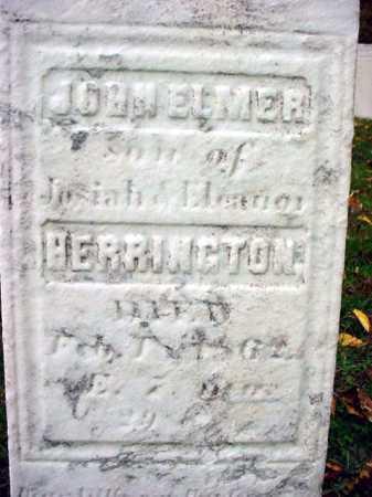 HERRINGTON, JOHN ELMER - Rensselaer County, New York   JOHN ELMER HERRINGTON - New York Gravestone Photos