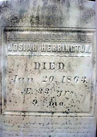 HERRINGTON, JOSIAH - Rensselaer County, New York   JOSIAH HERRINGTON - New York Gravestone Photos