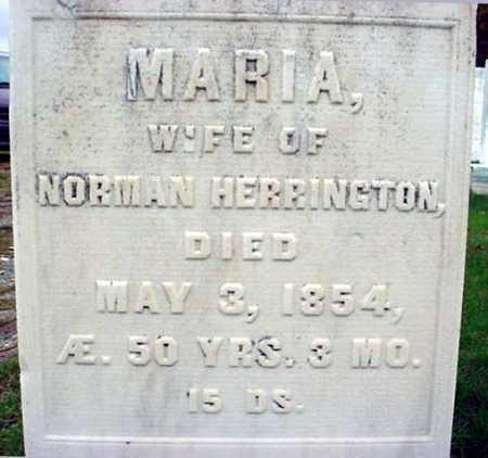 HERRINGTON, MARIA - Rensselaer County, New York   MARIA HERRINGTON - New York Gravestone Photos