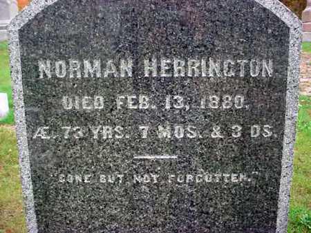 HERRINGTON, NORMAN - Rensselaer County, New York   NORMAN HERRINGTON - New York Gravestone Photos