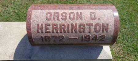 HERRINGTON, ORSON D - Rensselaer County, New York | ORSON D HERRINGTON - New York Gravestone Photos