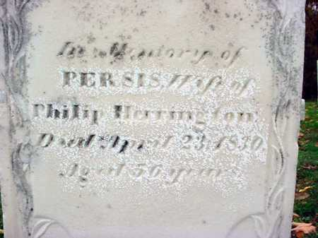HERRINGTON, PERSIS - Rensselaer County, New York   PERSIS HERRINGTON - New York Gravestone Photos