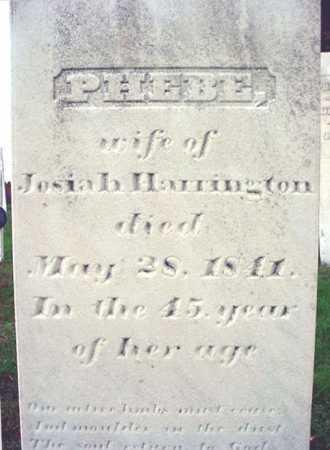 HERRINGTON, PHEBE - Rensselaer County, New York   PHEBE HERRINGTON - New York Gravestone Photos