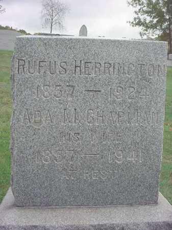 HERRINGTON, RUFUS - Rensselaer County, New York   RUFUS HERRINGTON - New York Gravestone Photos
