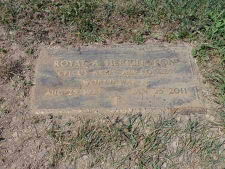 HERRINGTON, ROYAL A - Rensselaer County, New York   ROYAL A HERRINGTON - New York Gravestone Photos
