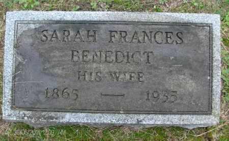 HERRINGTON, SARAH FRANCES - Rensselaer County, New York | SARAH FRANCES HERRINGTON - New York Gravestone Photos
