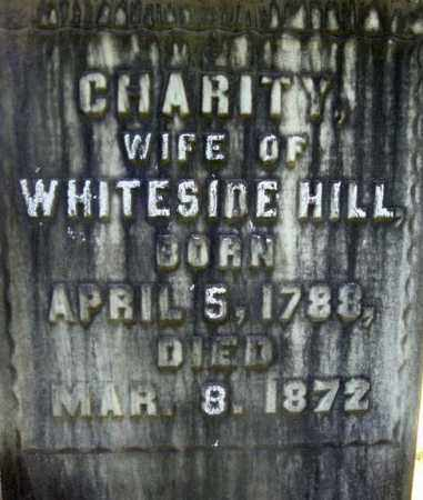 HILL, CHARITY - Rensselaer County, New York | CHARITY HILL - New York Gravestone Photos
