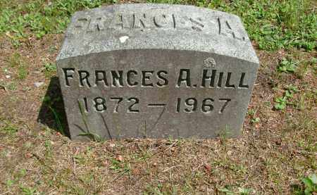 HILL, FRANCES A - Rensselaer County, New York | FRANCES A HILL - New York Gravestone Photos
