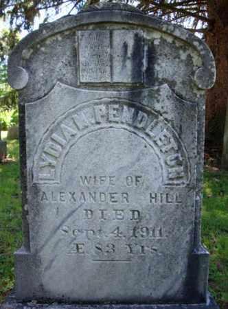 HILL, LYDIA M - Rensselaer County, New York | LYDIA M HILL - New York Gravestone Photos