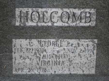 HOLCOMB, GEORGE - Rensselaer County, New York | GEORGE HOLCOMB - New York Gravestone Photos