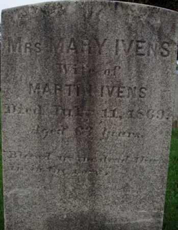 IVENS, MARY - Rensselaer County, New York   MARY IVENS - New York Gravestone Photos
