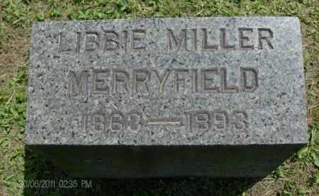 MERRYFIELD, LIBBIE - Rensselaer County, New York   LIBBIE MERRYFIELD - New York Gravestone Photos
