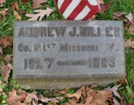 MILLER, ANDREW J - Rensselaer County, New York   ANDREW J MILLER - New York Gravestone Photos