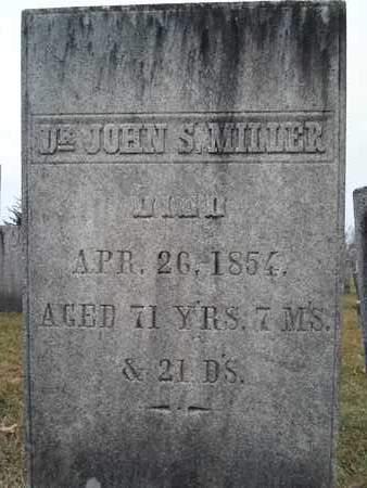 MILLER, JOHN S - Rensselaer County, New York | JOHN S MILLER - New York Gravestone Photos