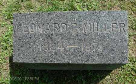 MILLER, LEONARD G - Rensselaer County, New York | LEONARD G MILLER - New York Gravestone Photos