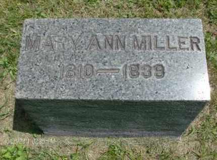 MILLER, MARY ANN - Rensselaer County, New York | MARY ANN MILLER - New York Gravestone Photos