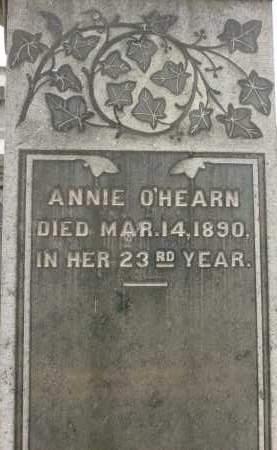 O'HEARN, ANNIE - Rensselaer County, New York | ANNIE O'HEARN - New York Gravestone Photos