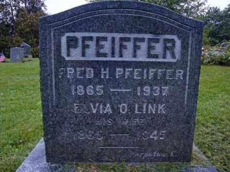 LINK PFEIFFER, ELVIA O - Rensselaer County, New York | ELVIA O LINK PFEIFFER - New York Gravestone Photos