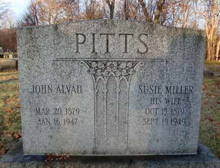 PITTS, JOHN ALVAH - Rensselaer County, New York | JOHN ALVAH PITTS - New York Gravestone Photos