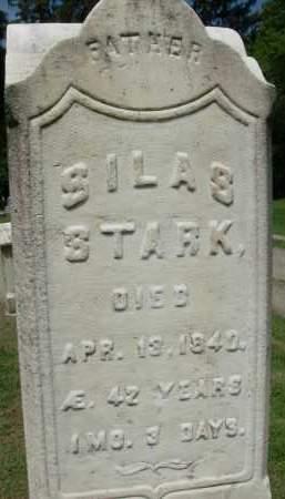 STARK, SILAS - Rensselaer County, New York | SILAS STARK - New York Gravestone Photos