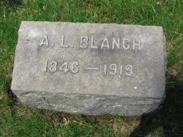 BLANCH, A. L. - Rockland County, New York   A. L. BLANCH - New York Gravestone Photos