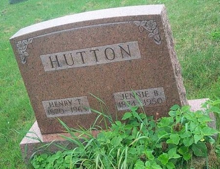 HUTTON, HENRY T - Saint Lawrence County, New York | HENRY T HUTTON - New York Gravestone Photos