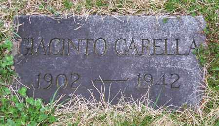 CAPELLA, GIACINTO - Saratoga County, New York | GIACINTO CAPELLA - New York Gravestone Photos