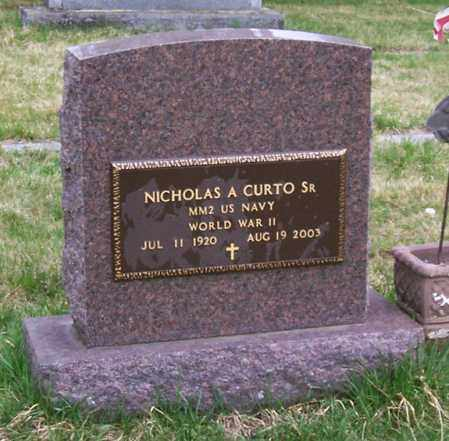 CURTO, NICHOLAS A. - Saratoga County, New York | NICHOLAS A. CURTO - New York Gravestone Photos