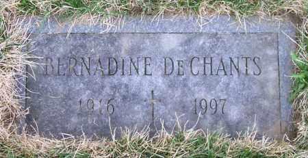 DECHANTS, BERNADINE - Saratoga County, New York   BERNADINE DECHANTS - New York Gravestone Photos