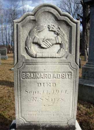 ADSIT, BRAINARD - Saratoga County, New York   BRAINARD ADSIT - New York Gravestone Photos