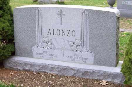 CERRONI ALONZO, CAROLINA - Saratoga County, New York | CAROLINA CERRONI ALONZO - New York Gravestone Photos