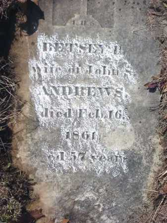 ANDREWS, BETSEY P - Saratoga County, New York | BETSEY P ANDREWS - New York Gravestone Photos