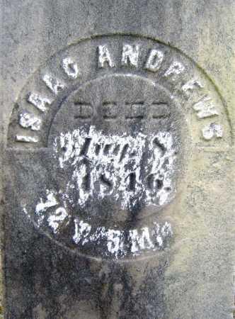 ANDREWS, ISAAC - Saratoga County, New York   ISAAC ANDREWS - New York Gravestone Photos