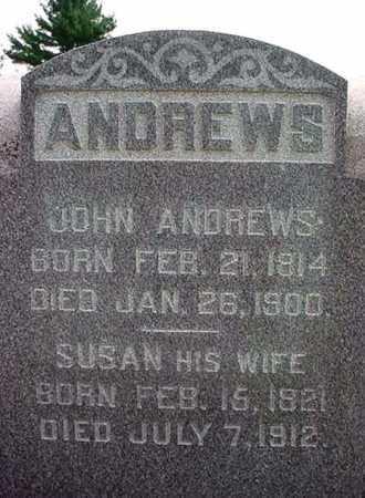 ANDREWS, SUSAN - Saratoga County, New York   SUSAN ANDREWS - New York Gravestone Photos