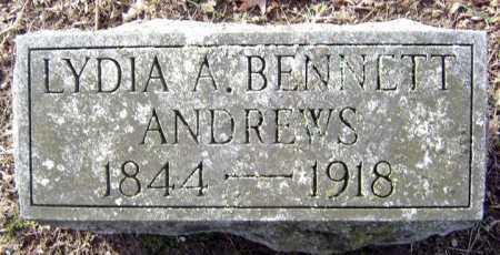 BENNETT ANDREWS, LYDIA A - Saratoga County, New York   LYDIA A BENNETT ANDREWS - New York Gravestone Photos