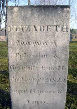 ANNABLE, ELIZABETH - Saratoga County, New York | ELIZABETH ANNABLE - New York Gravestone Photos