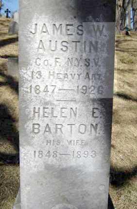 AUSTIN (CW), JAMES W - Saratoga County, New York | JAMES W AUSTIN (CW) - New York Gravestone Photos