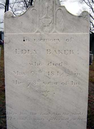 BAKER, EDEY - Saratoga County, New York | EDEY BAKER - New York Gravestone Photos